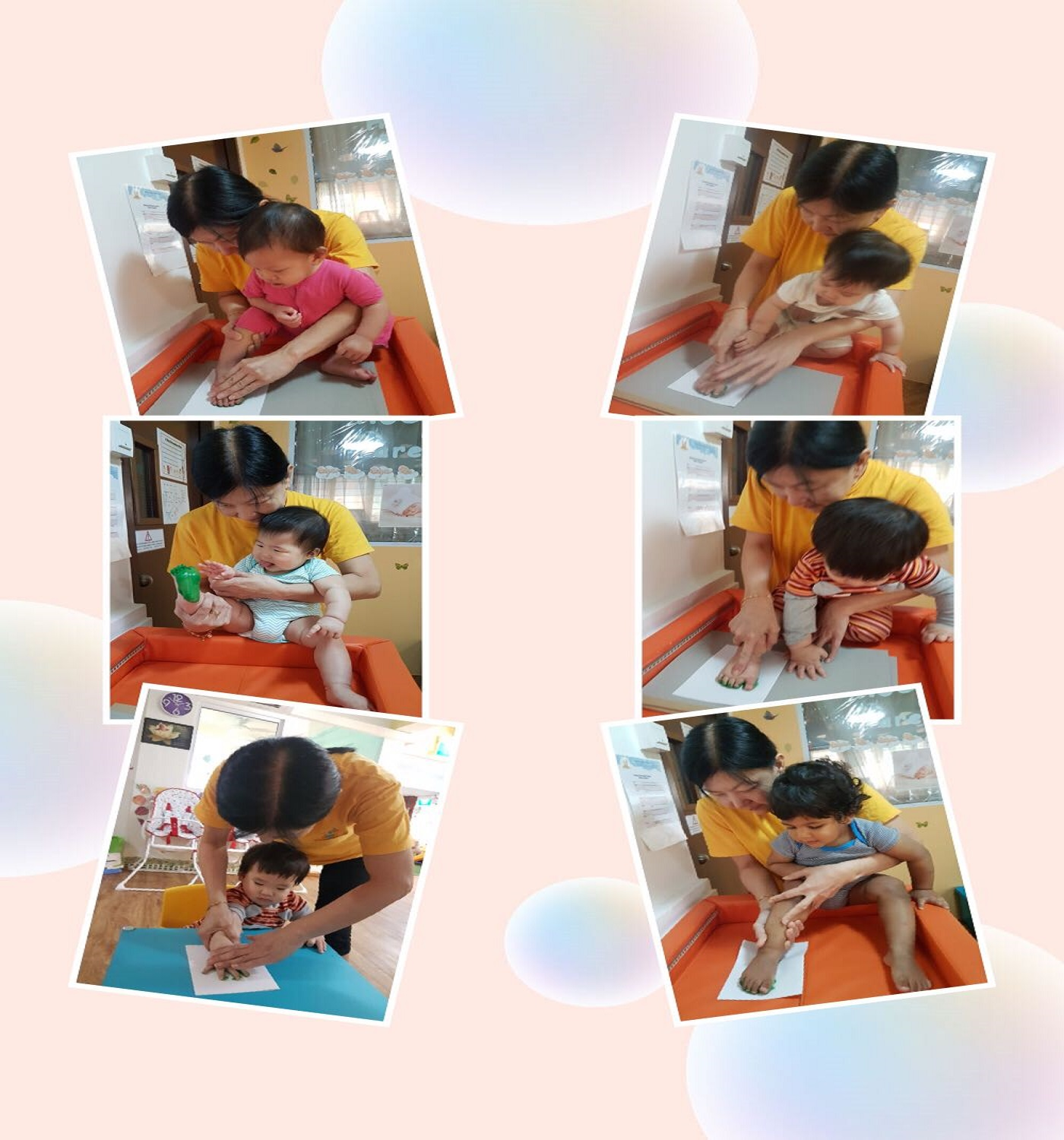 Hand and Foot Print Activity