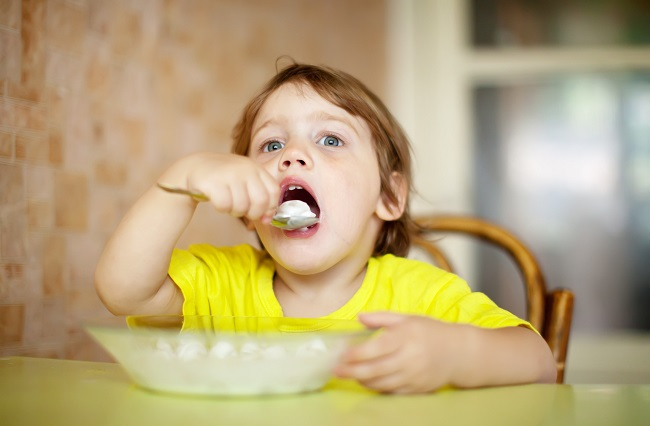 Catering Solid Food Habits in an Infant